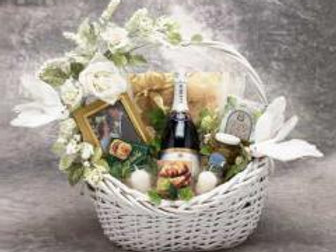 Wedding Wishes Gift Basket~ Large