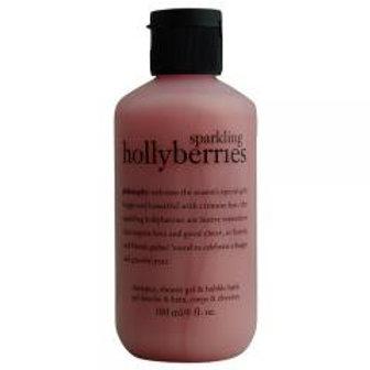 Hollyberries 3 in 1 Shampoo, Bubble bath & Shower Gel!