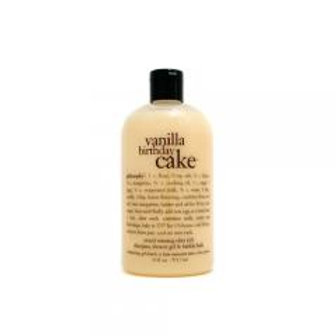 Vanilla Birthday Cake Shower Gel by philosophy!
