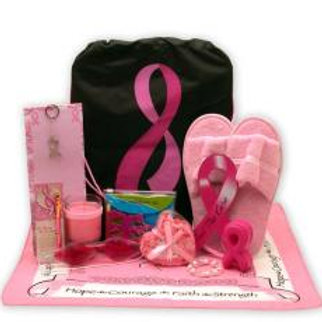 Show you care Breast Cancer Survivor Gift Tote!