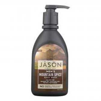 Jason Naturals Mens Body Wash-Mountain Spice!