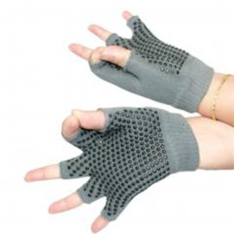 Yoga Fingerless Non Slip Gloves!