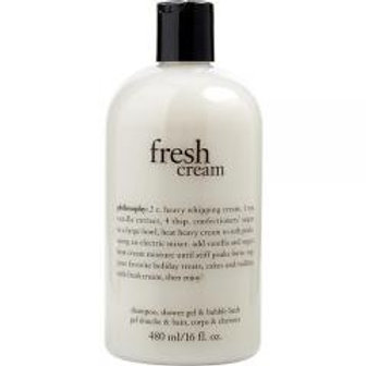 Fresh Cream 3 in 1 Shampoo, Bubble bath & Shower Gel!