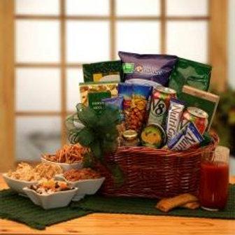 Healthy Gourmet Snacks Gift Basket!