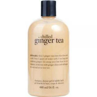 Ginger Tea 3 in 1 Shampoo, Bubble bath and Shower Gel!