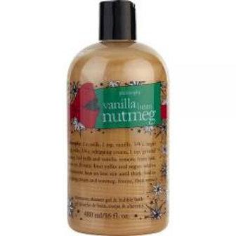 Vanilla Bean & Nutmeg 3 in 1 Shampoo, Bubble bath & Shower Gel!