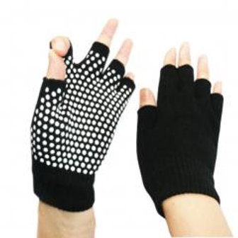 Yoga Fingerless Non Slip Gloves