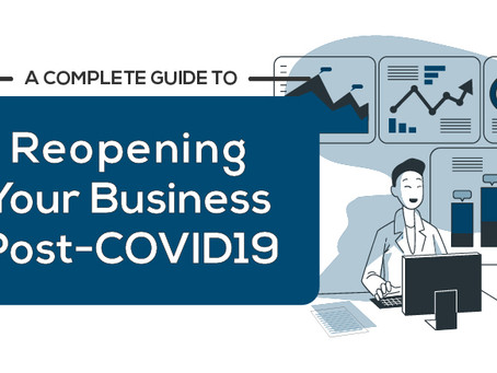 A COMPLETE GUIDE TO REOPENING YOUR BUSINESS POST-COVID19