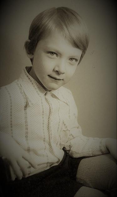 Психолог Денис Кондратьев (детское фото)