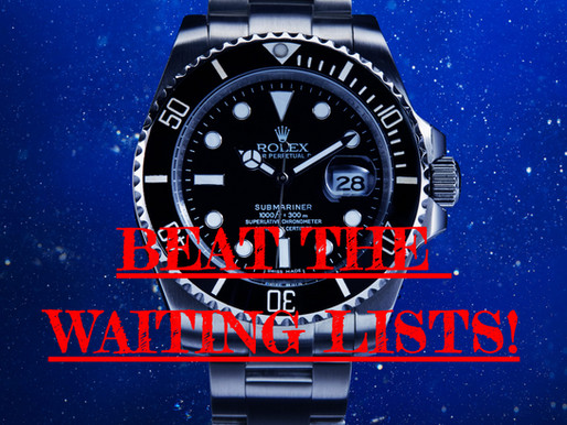 12 Top Tips to Beat the Rolex Waiting Lists