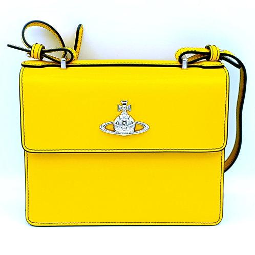 Vivienne-Westwood-Yellow-Leather-Handbag-Hire-WatchVIP