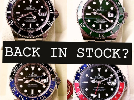 😲 Rolex are Increasing Supply ⌚