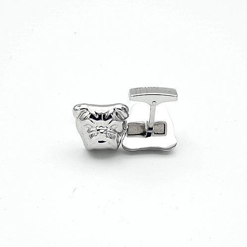 Dunhill Bulldog Cufflinks - Sterling Silver