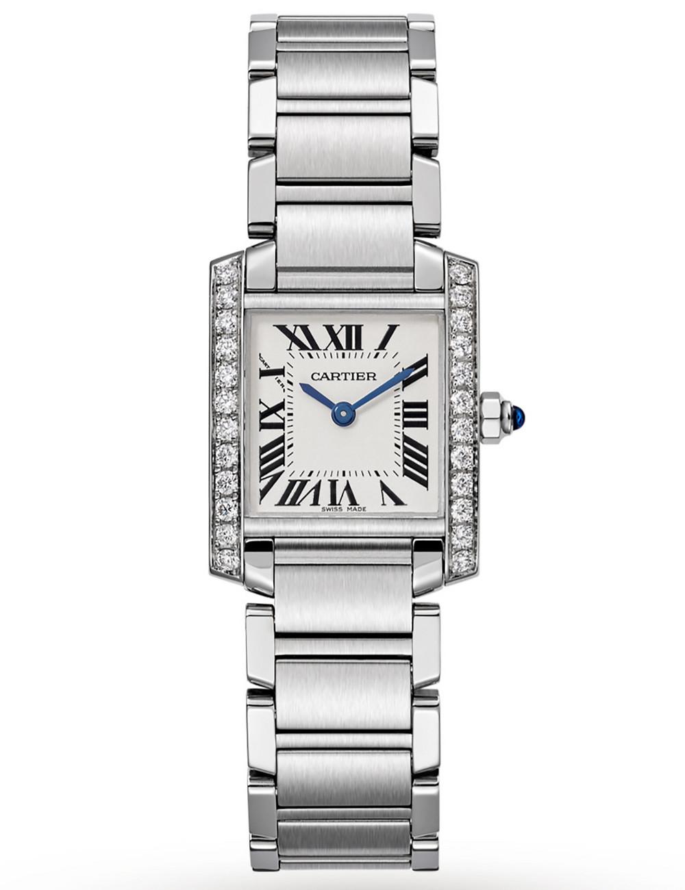 Cartier Tank Francaise Diamond Ladies for Hire