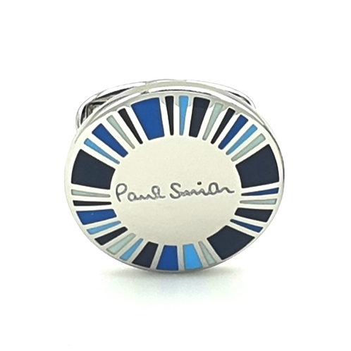 Paul Smith Radial Dial Blue Cufflinks