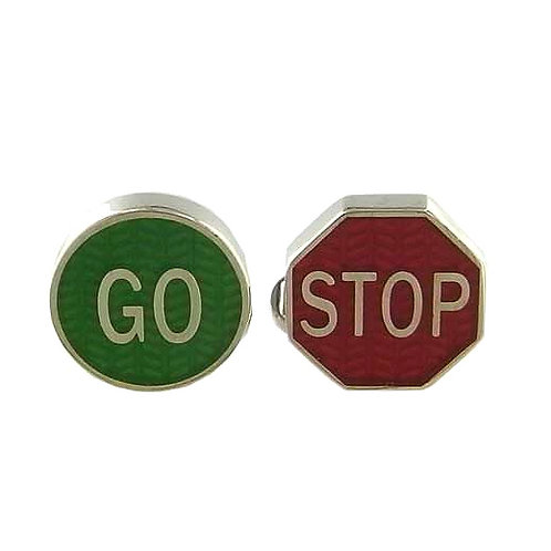 Paul Smith Stop/Go Cufflinks
