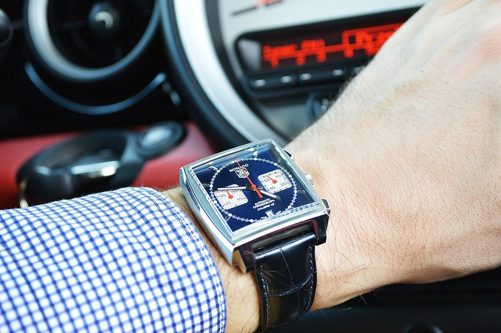 Tag Heuer Monaco for Hire from WatchVIP