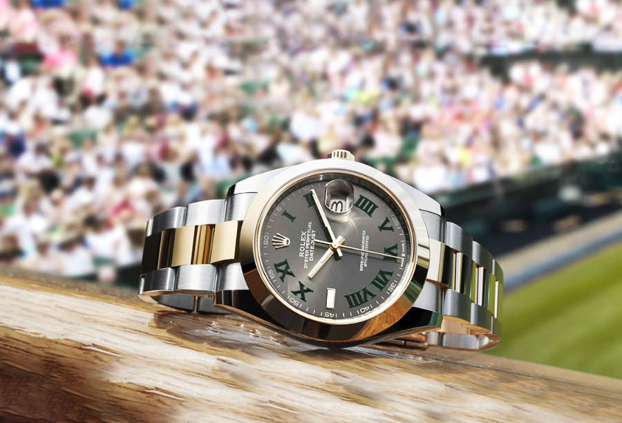 Rolex Datejust II Wimbledon Available for Hire from WatchVIP