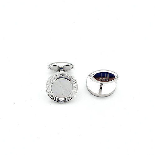 Dunhill Mother of Pearl & Sterling Silver Cufflinks