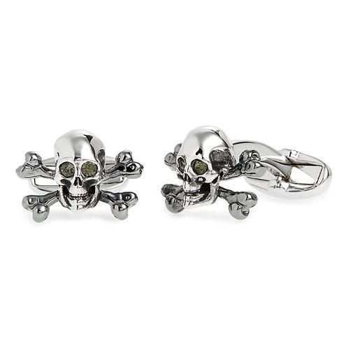 Paul Smith Skull & Crossbones Cufflinks - Silver Colour