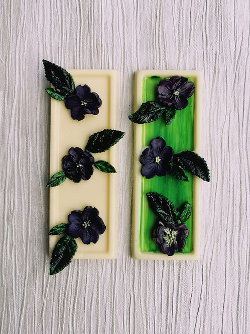 "1 x Le Petite Patisserie ""Flower Garden"" Slab"