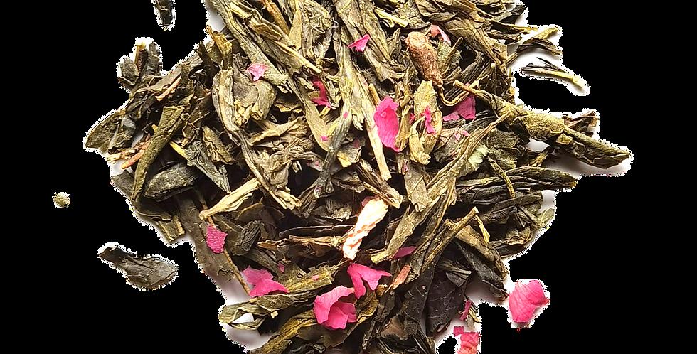 The Promise of Mount Fiji (Cherry Blossom & Japanese Rose)