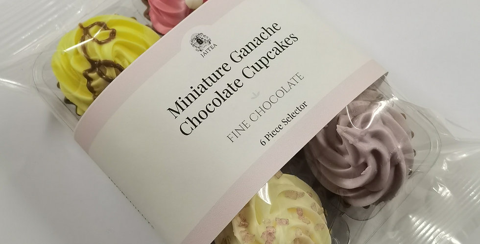 6 x Miniature Cupcake Chocolates