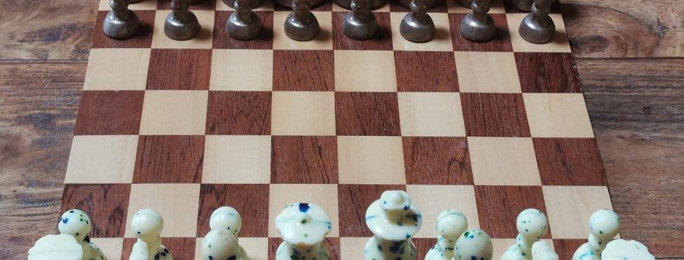 Lavender & Orange Infused Chess Figures