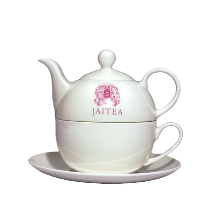 Jaitea Fine Bone China Teapot for One