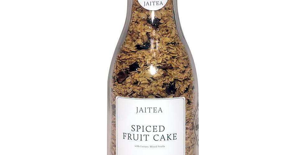 Spiced Fruit Cake Granola with Luxury Mixed Fruit