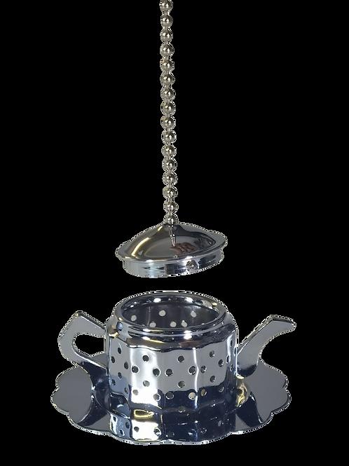 Mini Teapot Tea Infuser with Mini Tray Stand