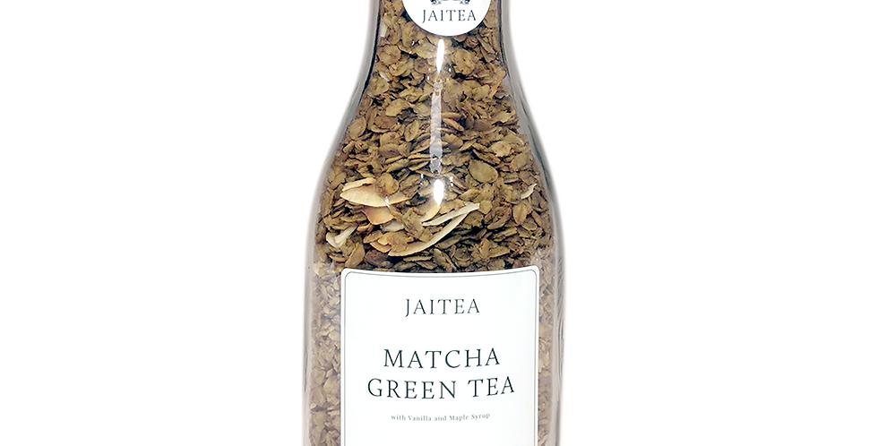 Matcha Green Tea Granola with Vanilla & Maple Syrup