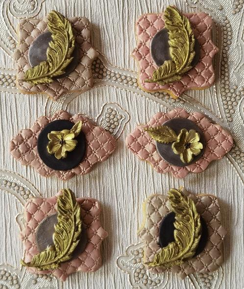 8 Rose & Lavender Organic Tea Biscuits