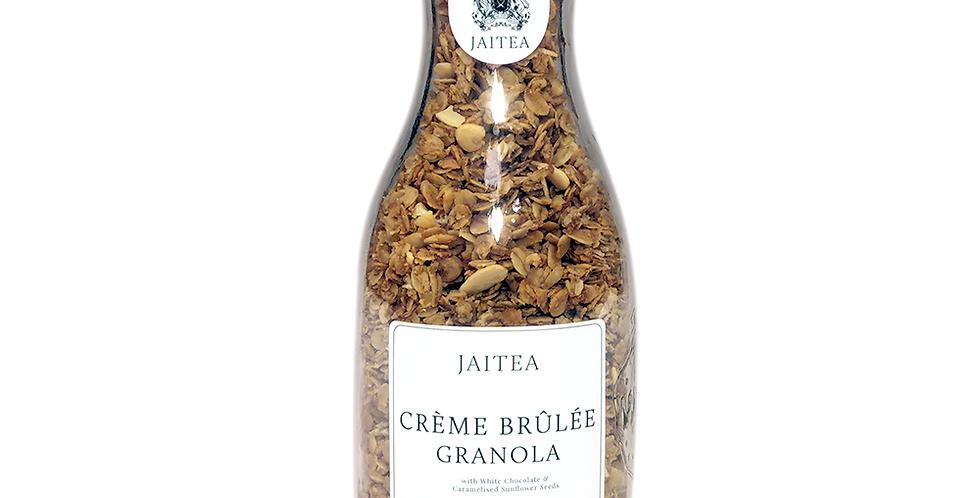Creme Brulee Granola with Caramelised Sunflower Seeds
