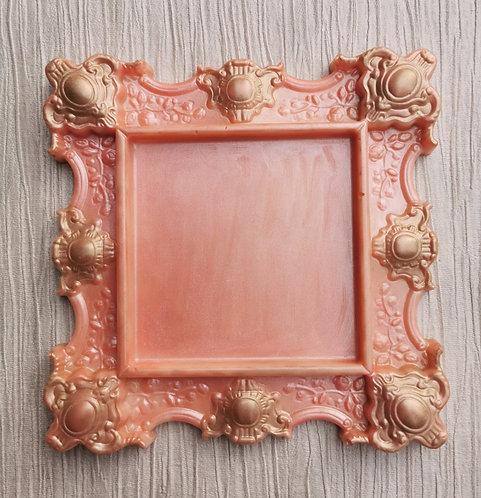 Floral Rose & Praline Ornate Chocolate Frame
