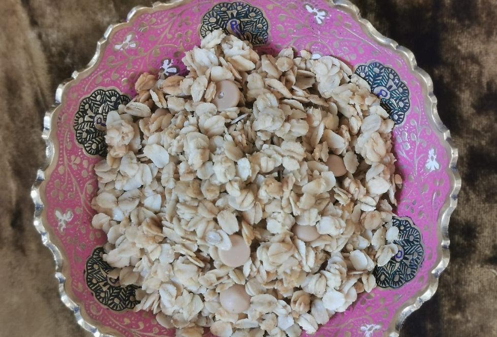 Rich Spiced Chai Granola with Almonds & Coconut