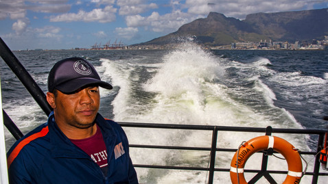 Full speed to Robben Island.