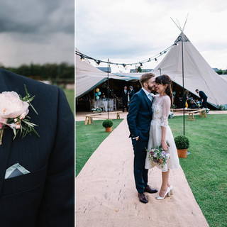 Great British Tipis: Tipi wedding hire, Groom