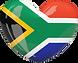 South Africa Flag Heart