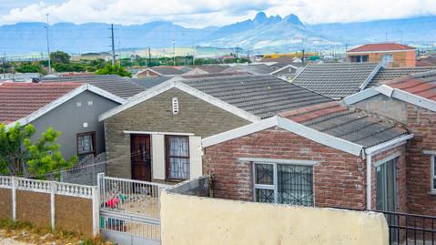 Posh township homes.
