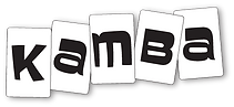 Kamba Logo - Letters Only - with shadow.