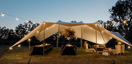 Great British Stretch Tents, Stretch Tent hire