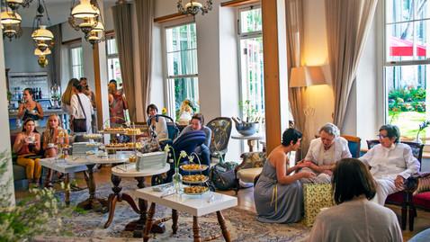 Ladies tea party.
