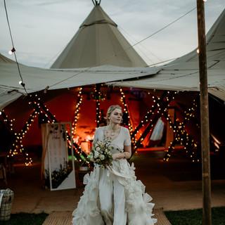 Great British Tipis: Tipi wedding hire, Bride