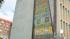High rise street art.