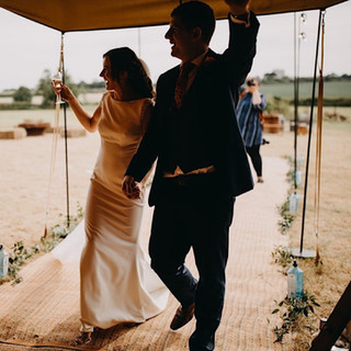 Great British Tipis: Tipi wedding hire, Bride and Groom