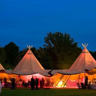 Great British Tipis: Tipi wedding hire, Tipis at night