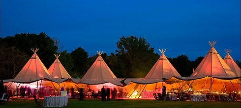 Tipi party hire
