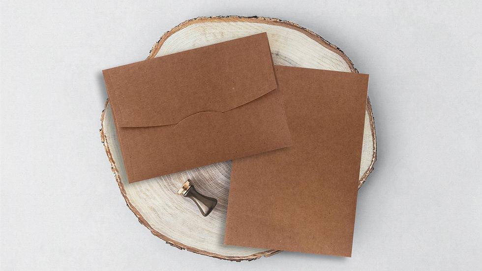 Davetiye Zarfı 14x20