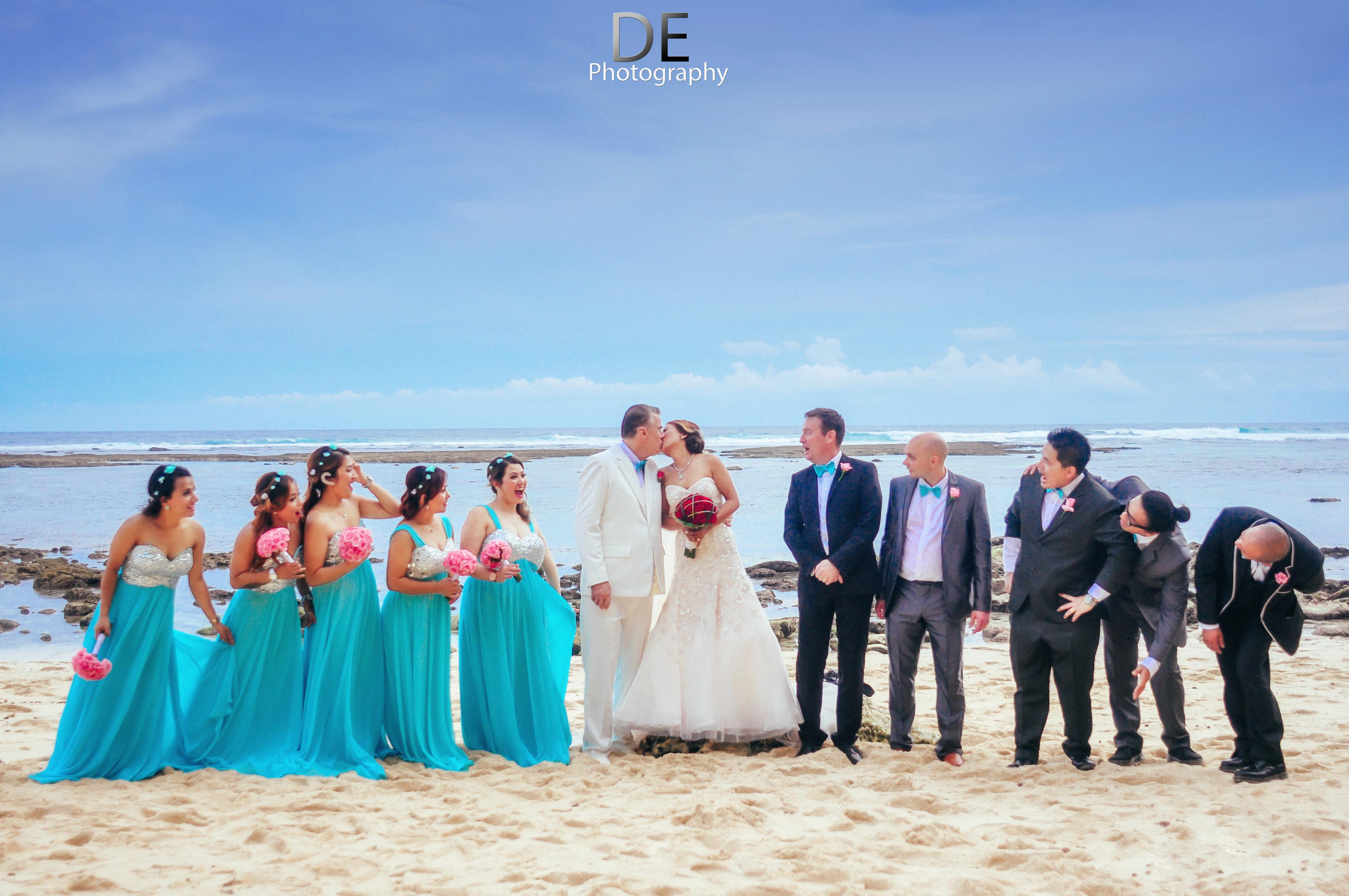 wedding of Ian and Renuka